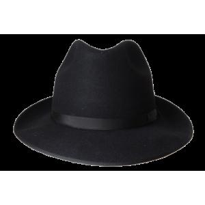 Classic Fedora Hat - Black