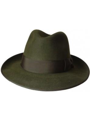 Classic Fedora Hat - Green