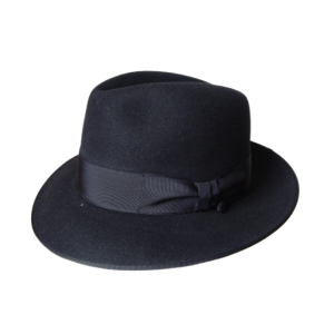 Classic Fedora Hat - Navy