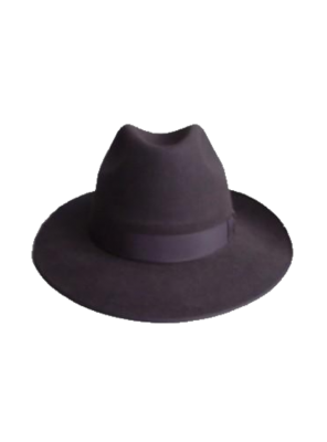 Classic Wide Brim Hat - Brown