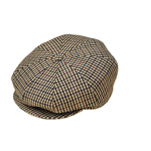 Tweed 8 Section Cap