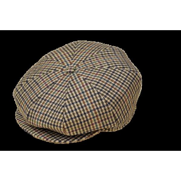 Tweed 8 Section Cap