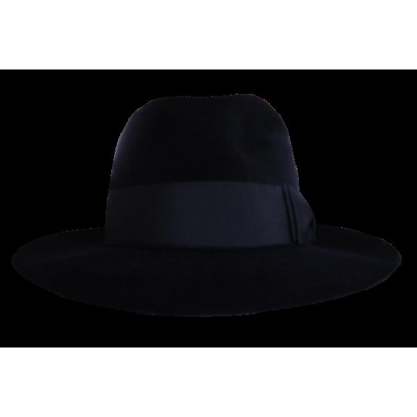 Antelope Felt Hat - Black