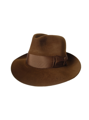 Antelope Felt Hat- Brown