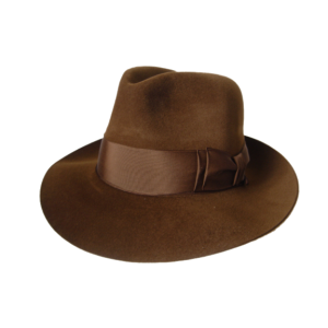Antelope Felt Hat- Brown
