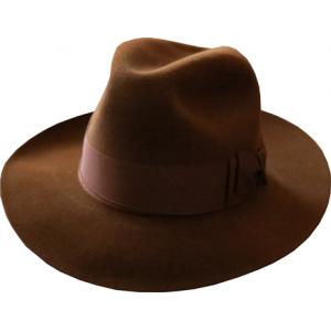 Antelope Felt Hat - Russet Brown
