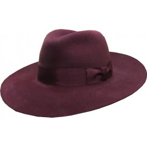 Extra Wide Antelope Hat - Wine