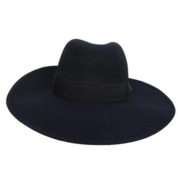 Extra Wide Antelope Hat - Black