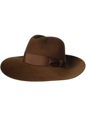 Extra Wide Antelope Hat - Brown