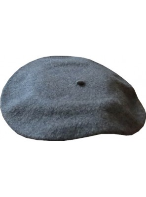 "11"" Wool Beret - Dark Flannel"