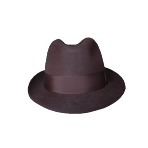 Blue's Brothers Hat - Brown