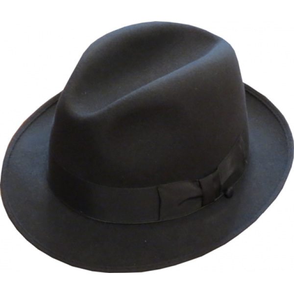 Blue's Brothers Hat - Charcoal Grey