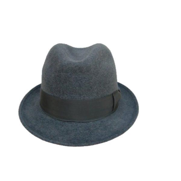 Blue's Brothers Hat - Mid Grey
