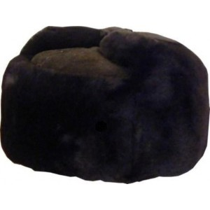 Fur Hat - Black