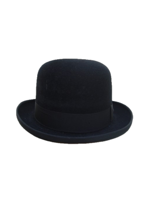 Homburg Hat - Black