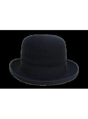 Homburg Hat - Black