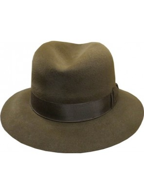 Fedora Hat - Mid Brown