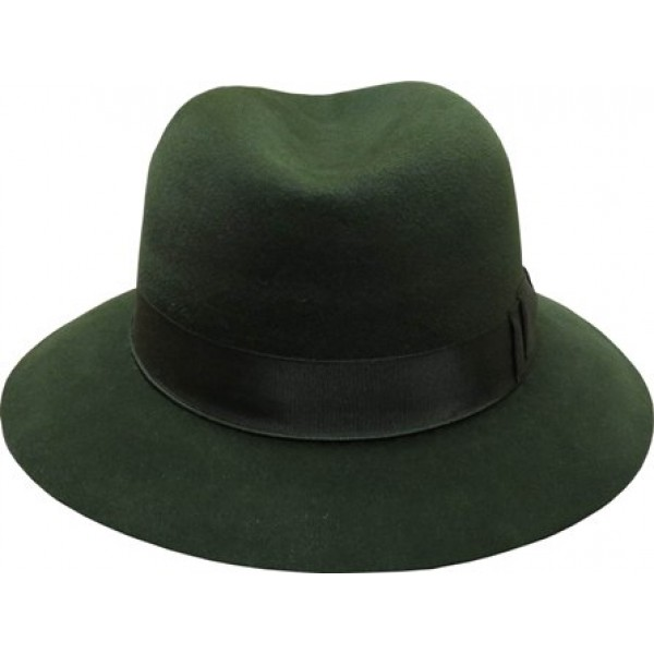 Fedora Hat - Green