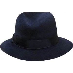 Fedora Hat - Navy