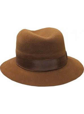 Fedora Hat - Lighter Brown