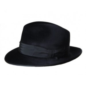 Melusine Felt Hat - Black