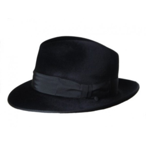 Melusine Felt Hat - Black