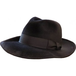 Broad Melusine Hat - Black