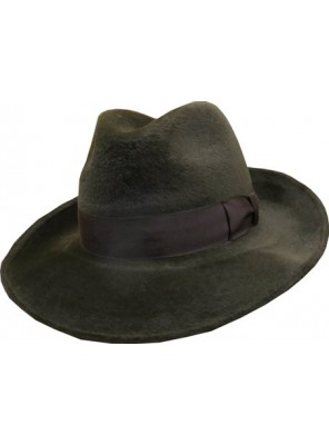 Broad Melusine Hat - Dark Brown