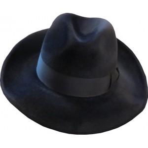 Broad Melusine Hat - Navy