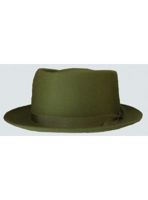 Pork Pie Hat - Olive