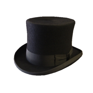 Top Hat - Black