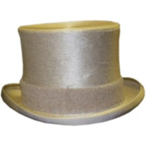Melusine Top Hat - White