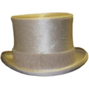 Melusine Top Hat - White