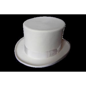 Top Hat - White